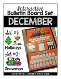 Interactive Bulletin Board Set- DECEMBER