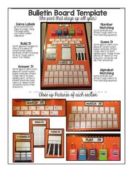 Interactive Bulletin Board Set- DECEMBER