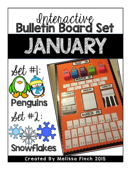 Interactive Bulletin Board Set- JANUARY