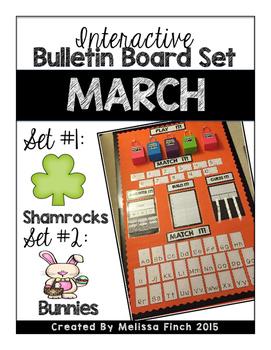 Interactive Bulletin Board Set- March