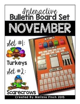 Interactive Bulletin Board Set- NOVEMBER