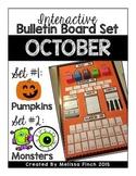 Interactive Bulletin Board Set- OCTOBER