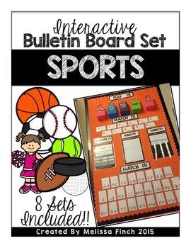 Interactive Bulletin Board Set- SPORTS SET