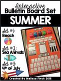 Interactive Bulletin Board Set- SUMMER