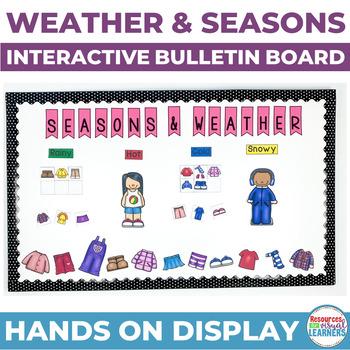Interactive Bulletin Board-Weather/Seasons