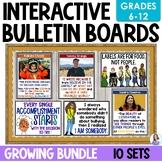 Interactive Bulletin Boards GROWING Bundle
