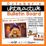 Interactive Bulletin Boards - October Literacy Posters