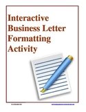 Interactive Business Letter Formatting Activity
