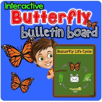 Interactive Butterfly Bulletin Board