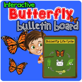 Interactive Butterfly Bulletin Board