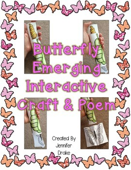 Interactive Butterfly Lifecycle Craft and Poem!