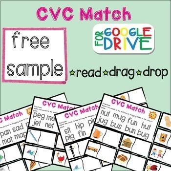Interactive CVC Match - Google Drive - Free Sample