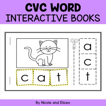 Interactive Mini Book - CVC Words