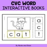 Interactive CVC Word Books
