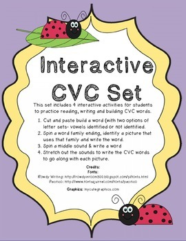 Interactive CVC Set