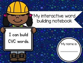 Interactive CVC Word Building Word Work for the Google Drive Classroom