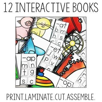 Interactive CVC Word Family Books