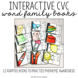 Interactive CVC Word Family Books
