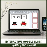 Interactive CVC Word for Special Education with Google Slides™