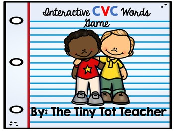 Interactive CVC Words Game Sample