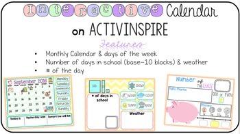 Interactive Calendar 2016 - 2017
