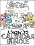 Interactive Calendar Activities- Discounted Bundle for Chi