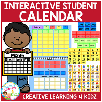 Interactive Student Calendar Special Education