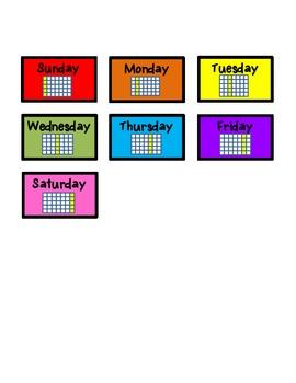 Interactive Calendar Book