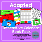 Adapted Interactive Calendar Book