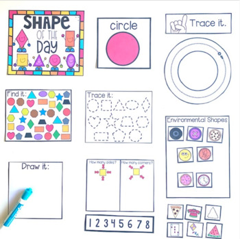 Skill of the Day Calendar Companion Bundle (Letters, Numbers, Shapes and Colors)