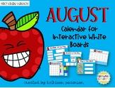 Interactive Calendar Flip Chart for 1st Grade