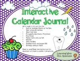 Interactive Calendar Journal
