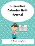Interactive Calendar Math Journal