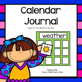 Calendar Math Journal for the Entire Year