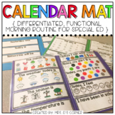 Interactive Calendar Mats ( for the Special Education Classroom )