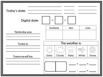 Interactive Calendar Notebook
