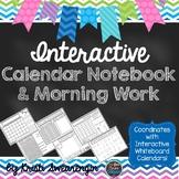 Interactive Calendar Notebook and Morning Work
