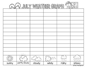 Calendar Notebooks for Kindergarten