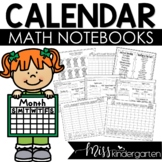 Calendar Notebooks for Kindergarten