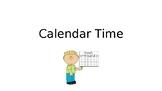 Interactive Calendar Time- No Prep!