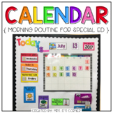 Interactive Calendar and Calendar Mat (for the Special Nee