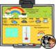 Interactive Calendar for SMART Board Kindergarten March-Themed