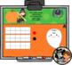 Interactive Calendar for SMART Board Kindergarten October-Themed