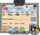 Interactive Calendar for SMART Board Kindergarten September-Themed