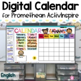 Interactive Calendar for Smart Board