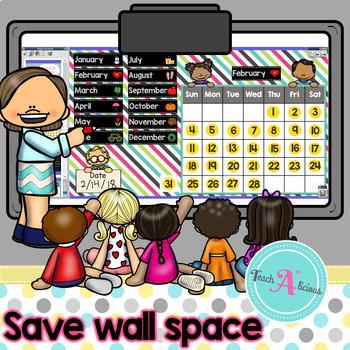 Interactive Calendar for ActivInspire (Promethean Board)