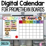 Interactive Calendar Promethean Board | ActivInspire