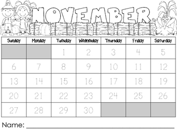 Interactive Calendars 2016-2017