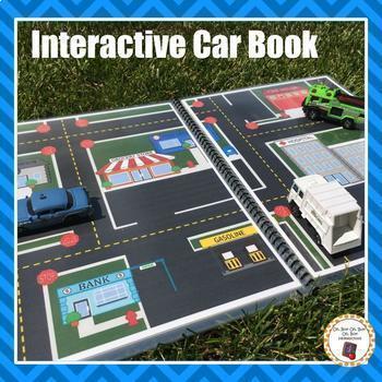 Interactive Car Activity Book
