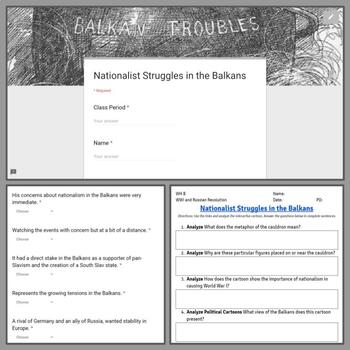 Interactive Cartoon: Nationalist Struggles in the Balkans 'Boiling Point'